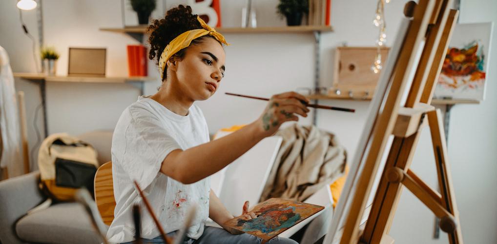 Hoe vind je een nieuwe creatieve hobby?