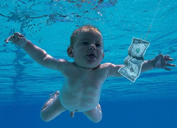Wow! Zo ziet de baby van het iconische Nirvana-album er nu uit