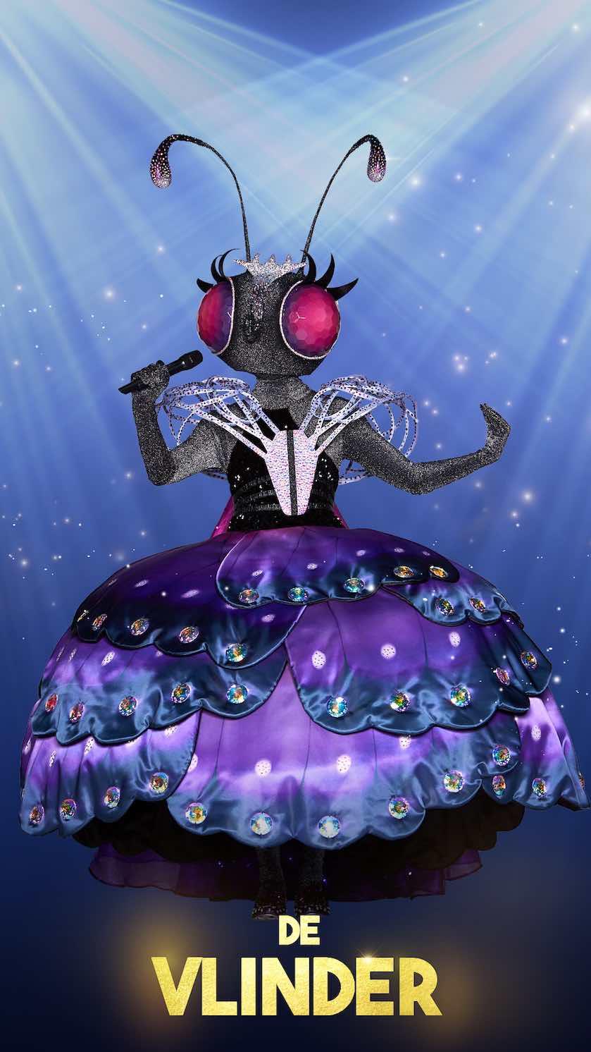 the masked singer vlinder
