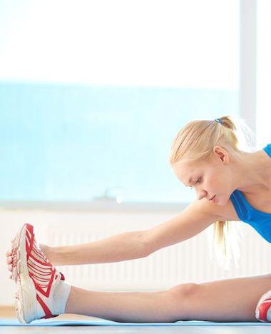 Slim stretchen voor het sporten