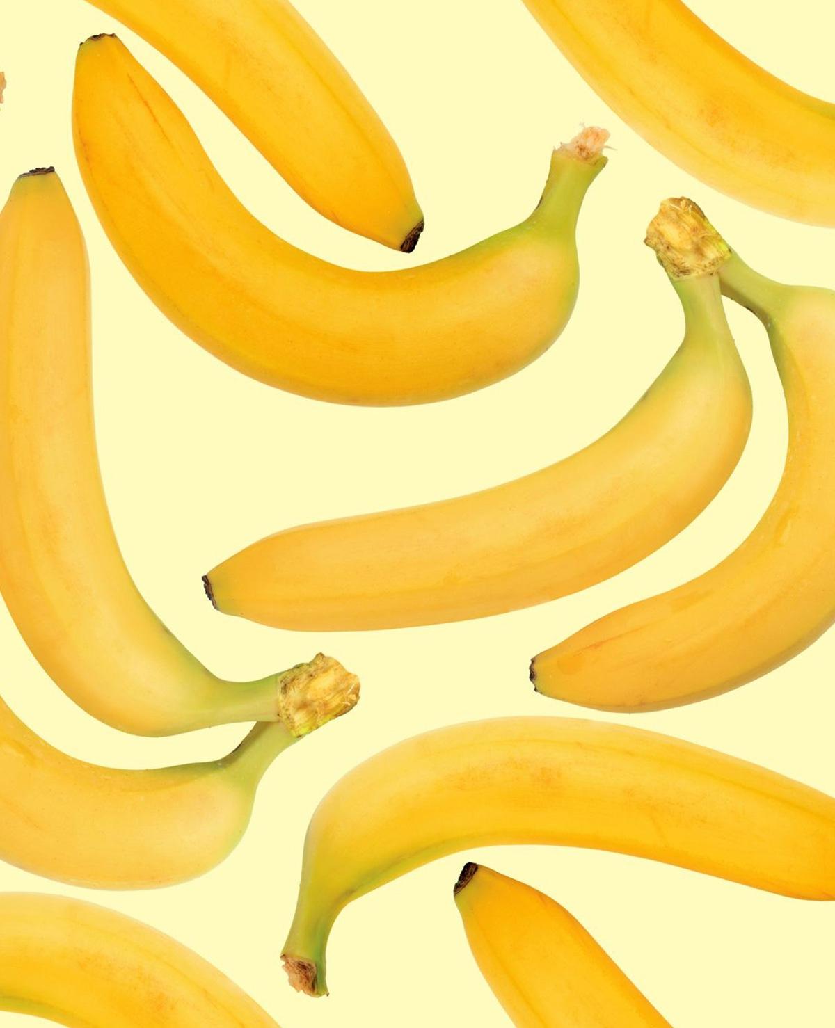 Zo blijven bananen mooi geel