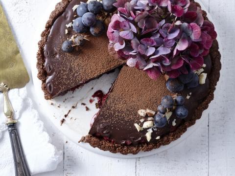 Nationale Pindakaasdag-recept: Chocoladetaart met pindakaas