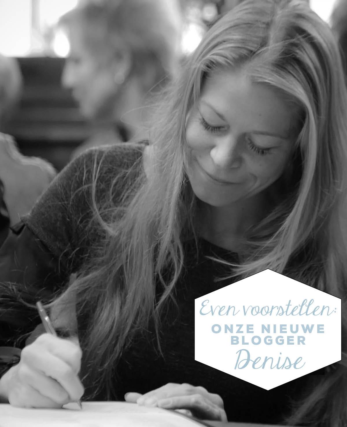 Even voorstellen: onze nieuwe blogger Denise Miltenburg