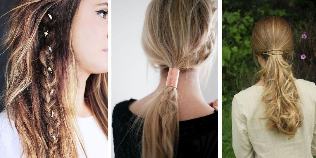 13 leuke haaraccessoires die je deze zomer zeker moet proberen