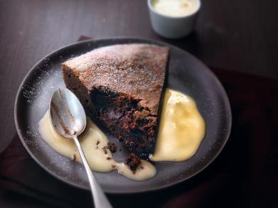 Recept: zachte taart met pure chocolade