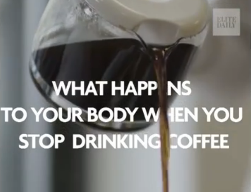 Video: Indrukwekkend! Dit gebeurt er dus als je stopt met het drinken van koffie!