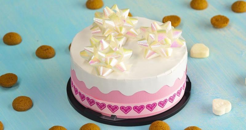 Sinterklaas inpaktip: een taart als surprise