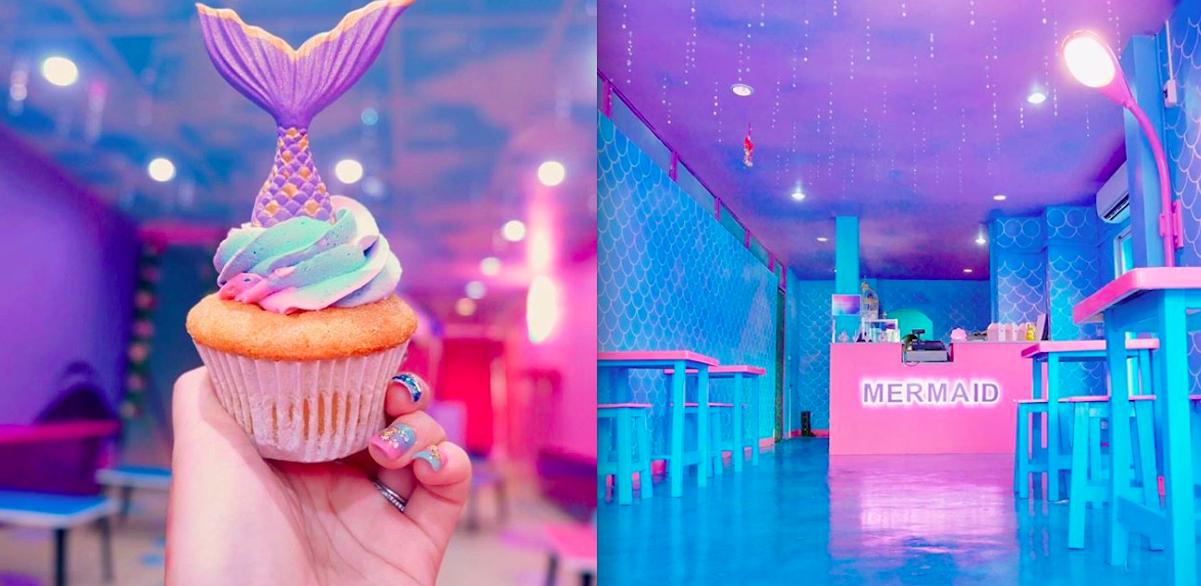 Er bestaat een mermaid café en het is precies zo heftig als je denkt