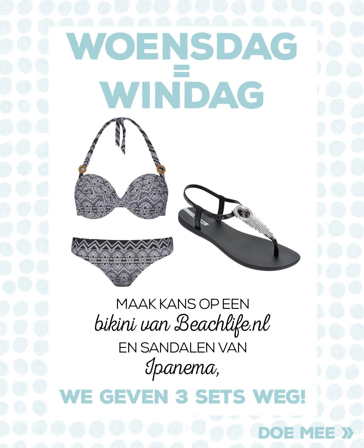 Win een Beachlife bikini + Ipanema sandalen