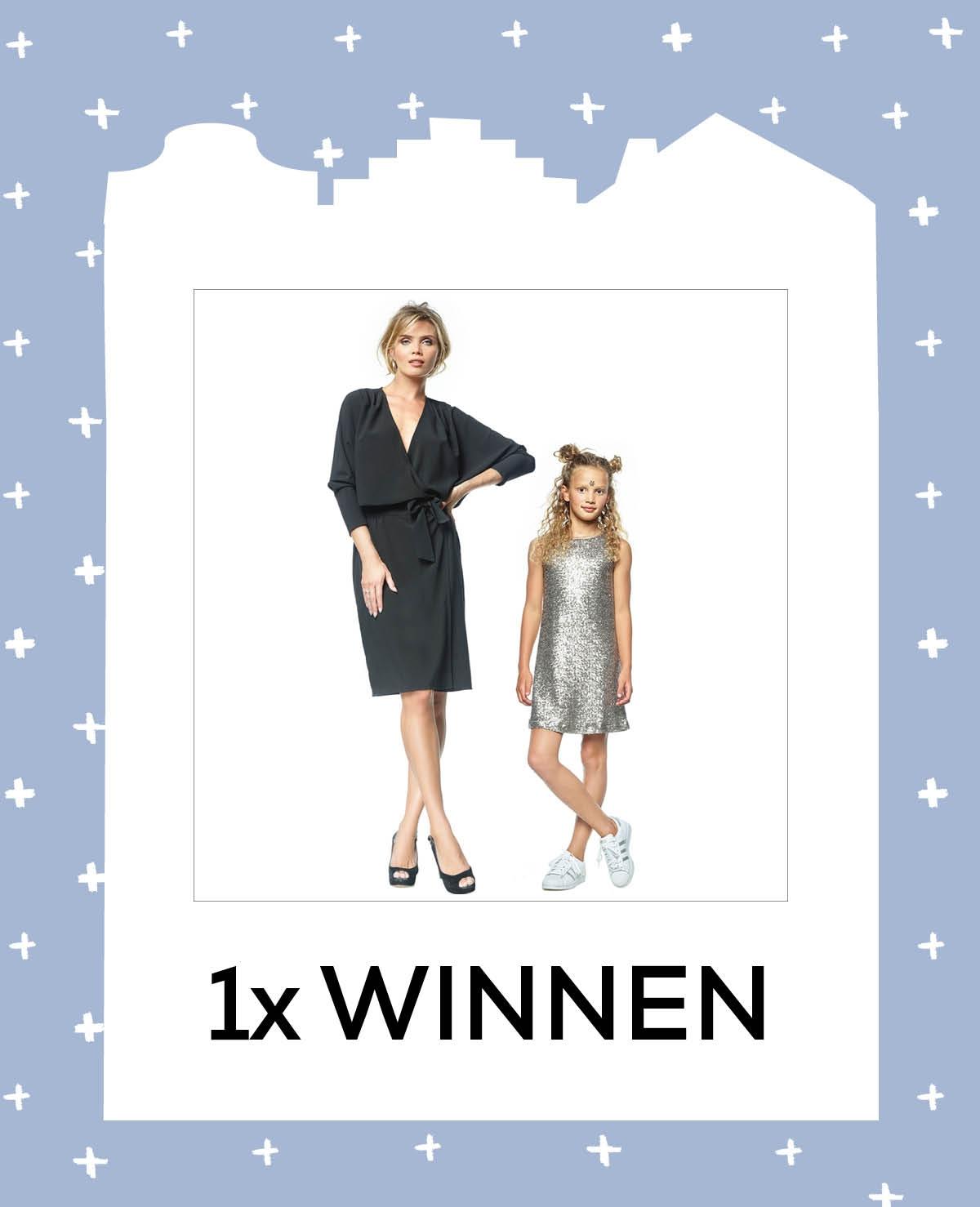 1x jurk Jessica + meidenjurk Lemoni van LaDress t.w.v. € 219 en € 119