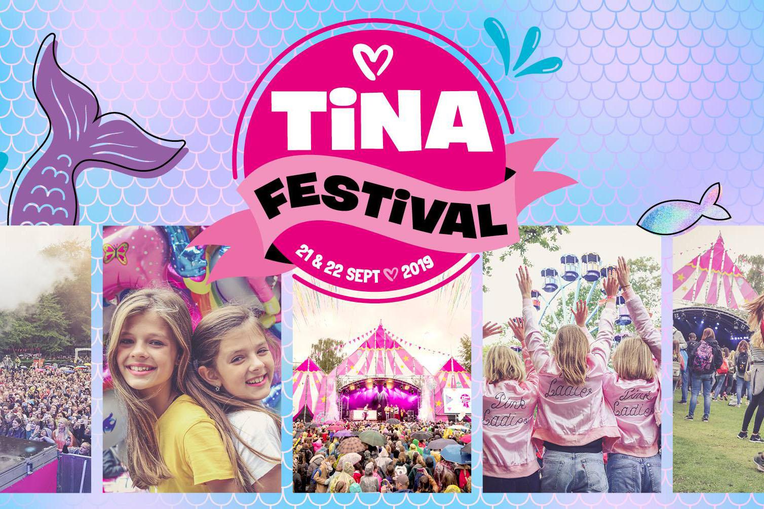 WIN: kaartjes voor het Tina-festival voor jou en je dochter