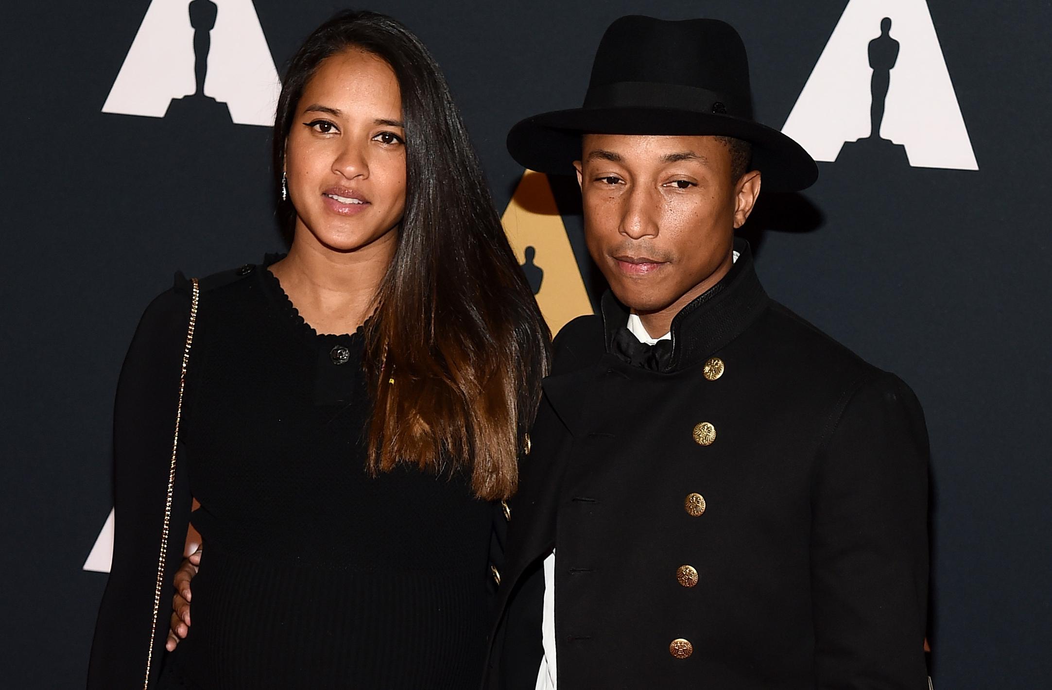WOW: Pharrell Williams vader geworden van drieling