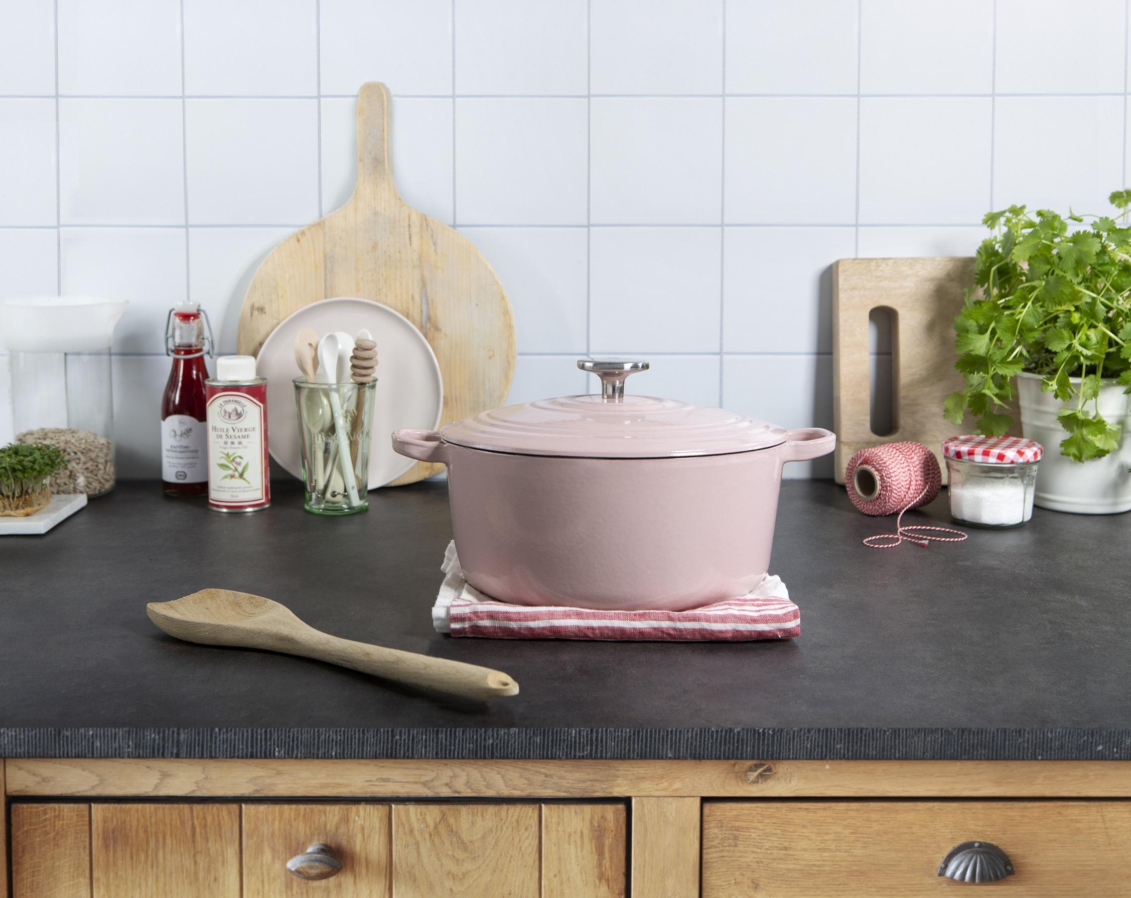 WIN: Roze keukenprinsessenpan van BK t.w.v. € 89,-