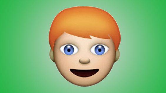 Yes! Komt er ein-de-lijk een roodharige emoji?