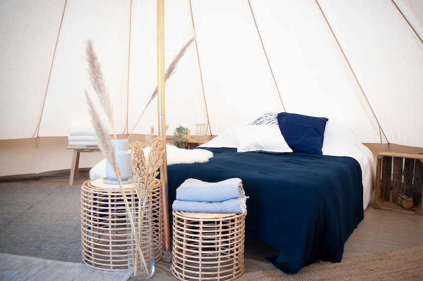 Spaarne Glamping- luxe culinaire camping