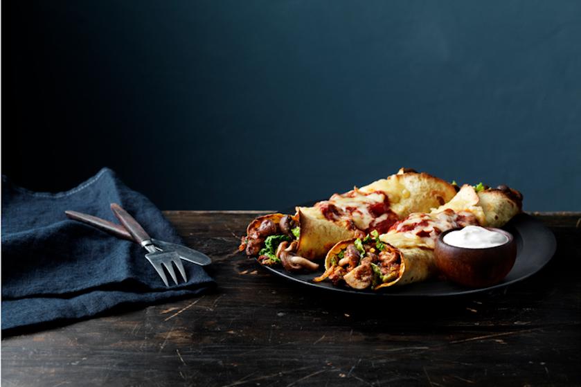 Nationale Week Zonder Vlees – recept: champignon enchilada's