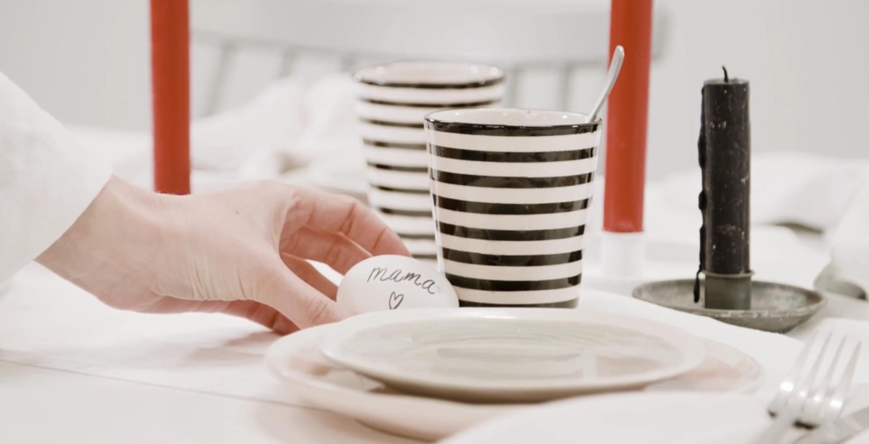 VIDEO: Zó dek je de tafel speciaal voor Moederdag