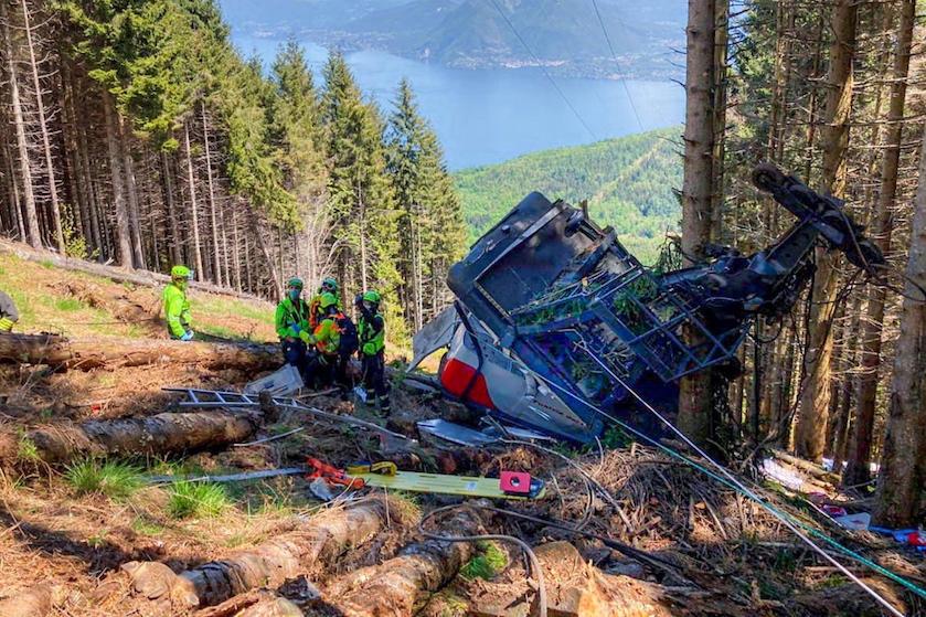 Schokkend: opzet in het spel bij dodelijk en buitengewoon tragisch kabelbaanongeluk Italië