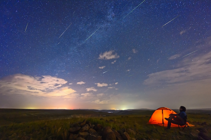 Bijzonder mooi: híer kijk je de komende nachten naar héél veel vallende sterren