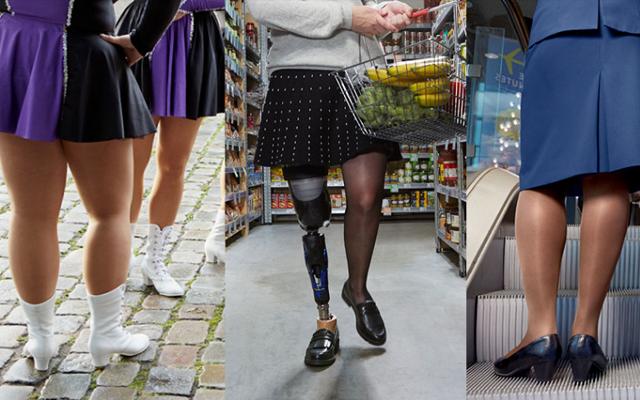 Buitenlandse pers laaiend enthousiast over meisje met beenprothese in Zeeman-reclame!