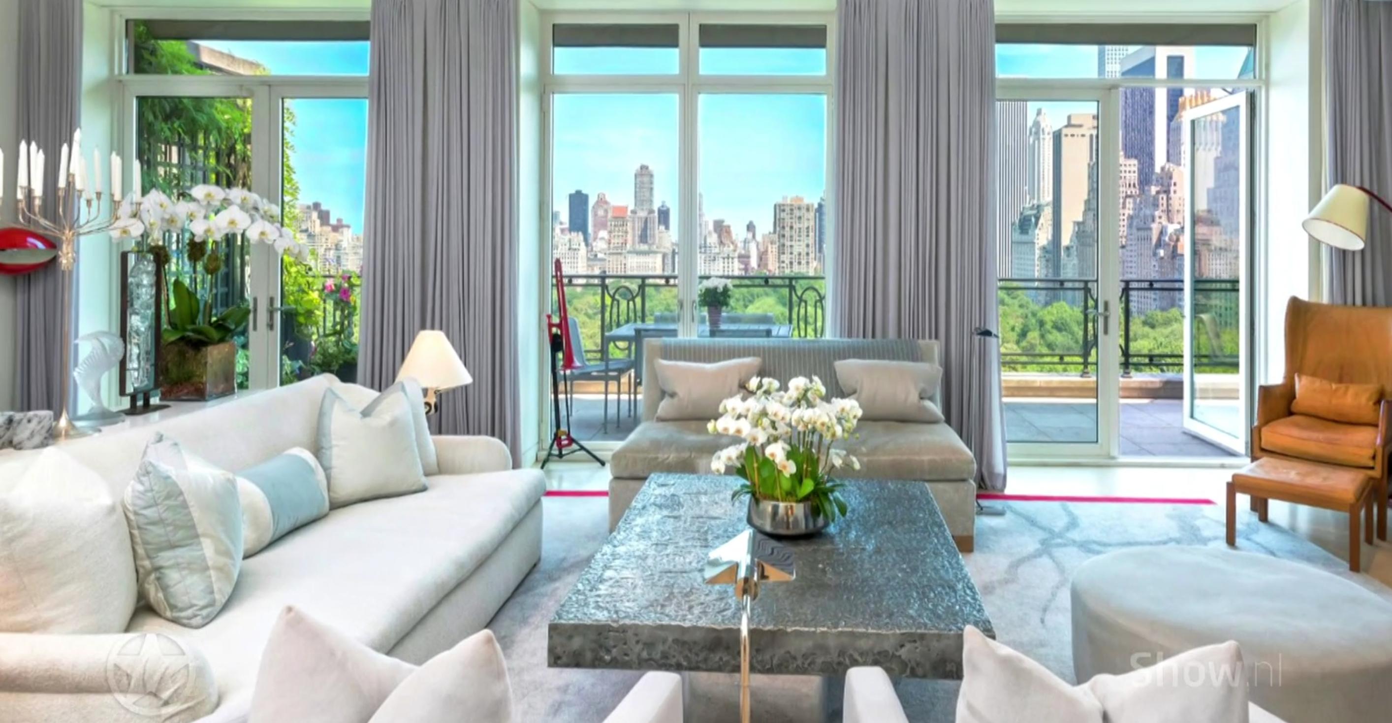 Binnenkijken bij Stings penthouse in New York