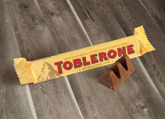 Zien: blijkbaar hoor je zó je Toblerone af te breken