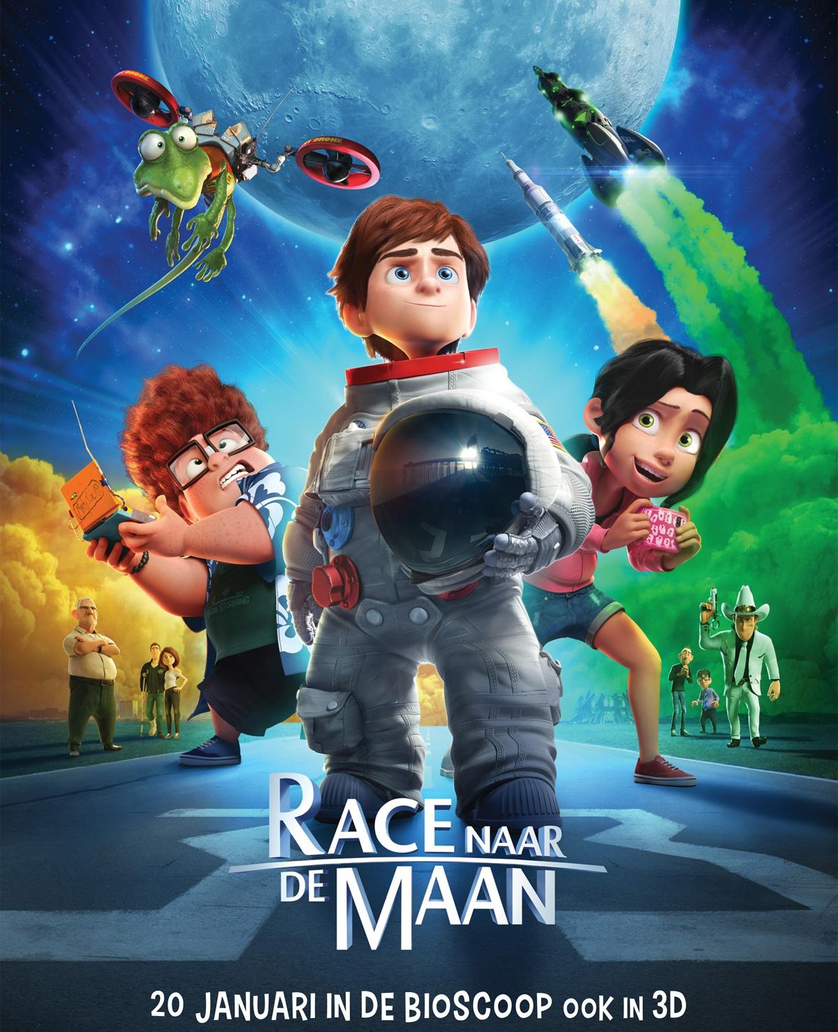 Win bioscoopkaarten voor 'Race naar de maan'