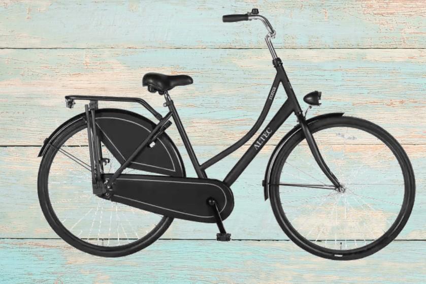 De comfortabele omafiets van fietsenopfietsen.nl voor tijdens je fietsvakantie