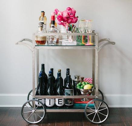 Pinspiration: 15 x super toffe bar carts voor een stoer interieur