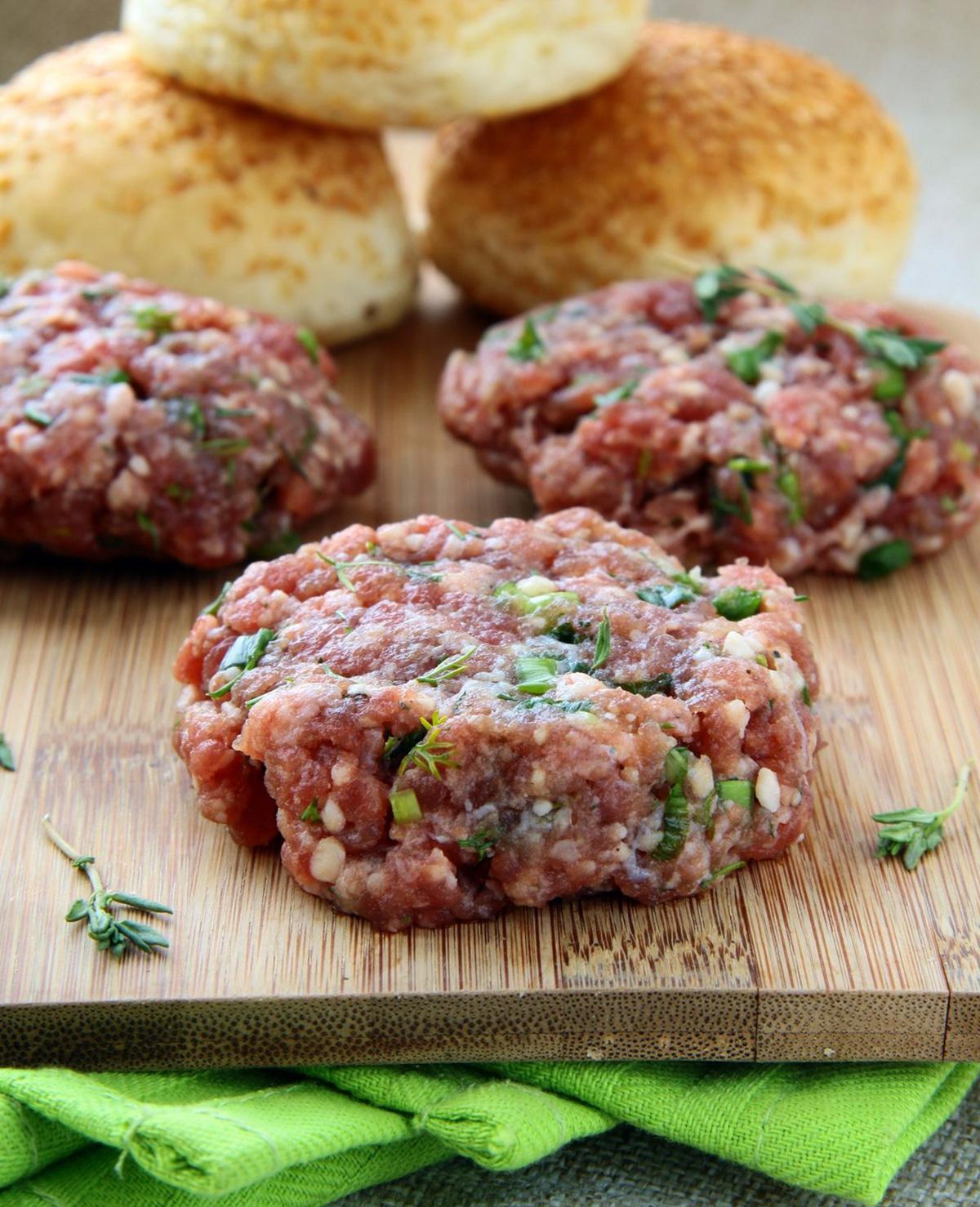 Maak een hamburger op deze manier!