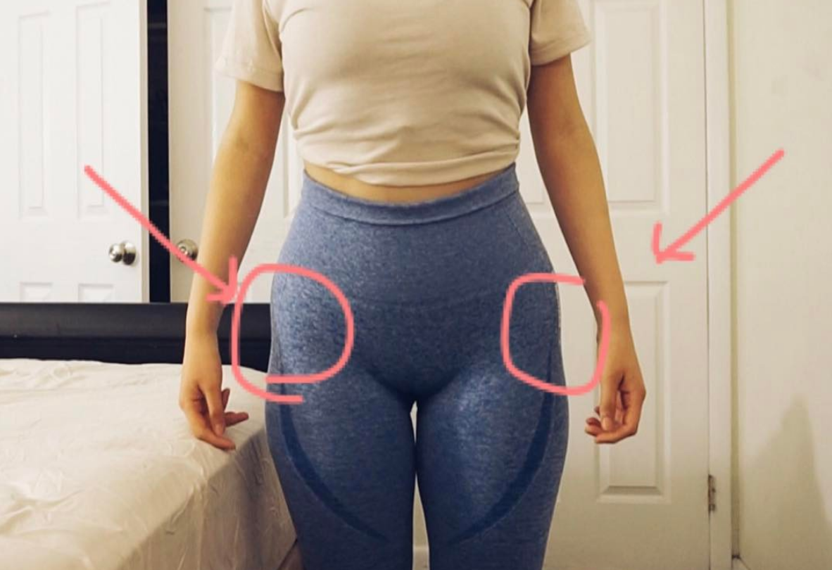'Hip dip' is de nieuwste body-positivitytrend op Instagram