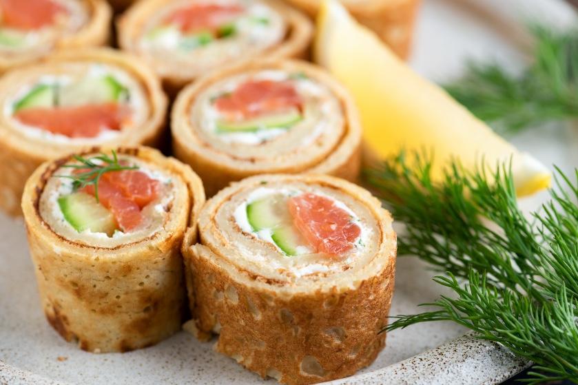 Pannenkoek-sushi is de nieuwe trend die iedereen een keer zou moeten proberen