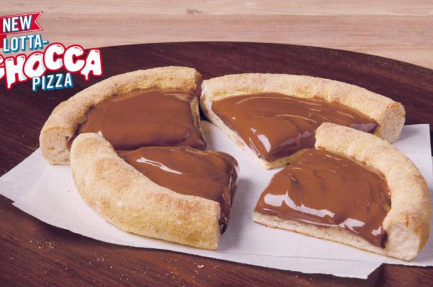 'In choc': Domino's zet chocoladepizza op de kaart