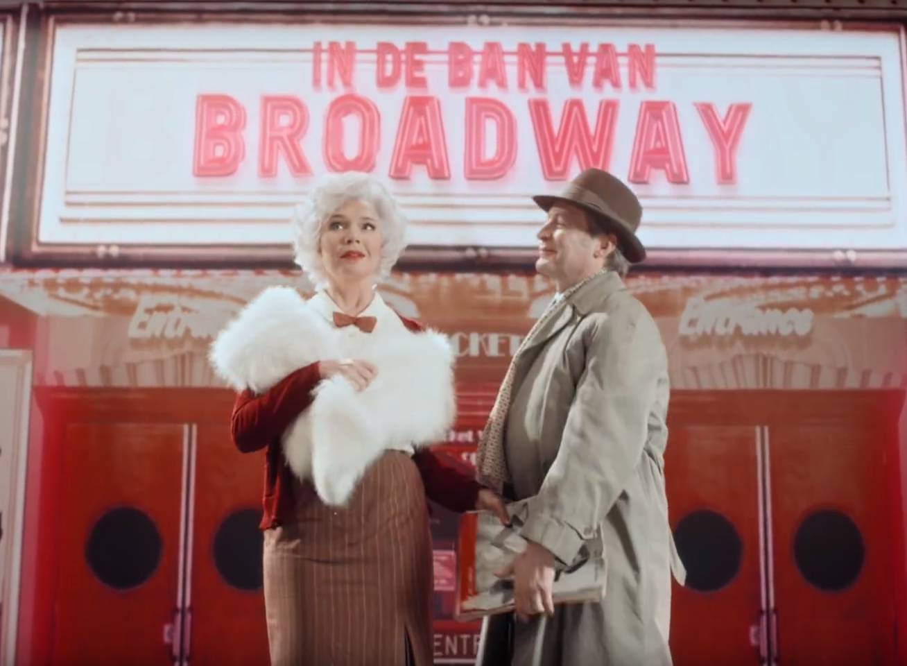 Gratis rang upgrade voor de musical 'In de ban van Broadway'