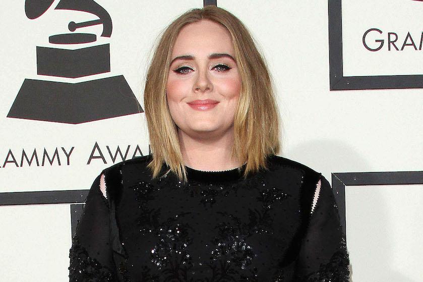 Adele wespentaille afgevallen slank