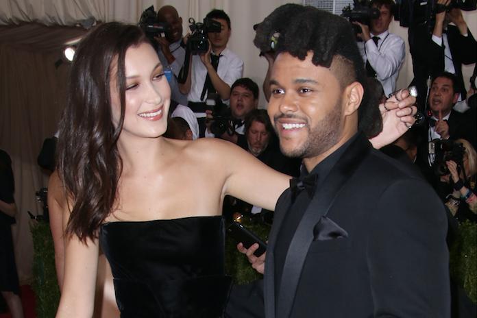 Zoenend gespot op Coachella: zijn The Weeknd en Bella Hadid weer samen?