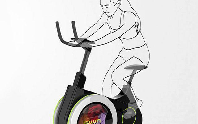 Stap op de fiets voor een work-out… én de was! (Ja, echt!)