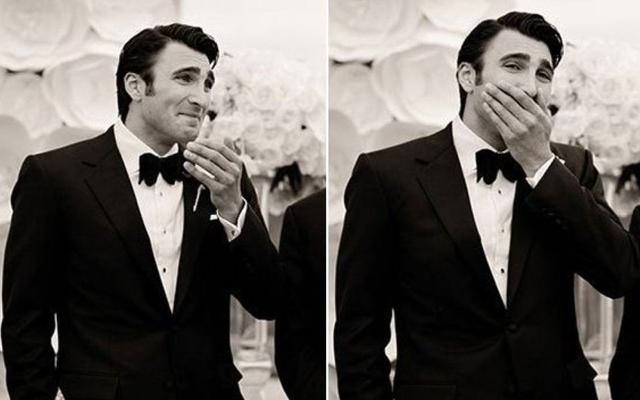 Smelt: deze foto's van mannen die voor het eerst hun bruid zien, zijn te lief!