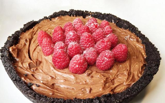 RECEPT: deze heilige Nutellacheesecake met perfecte Oreobodem hoeft niet in de oven