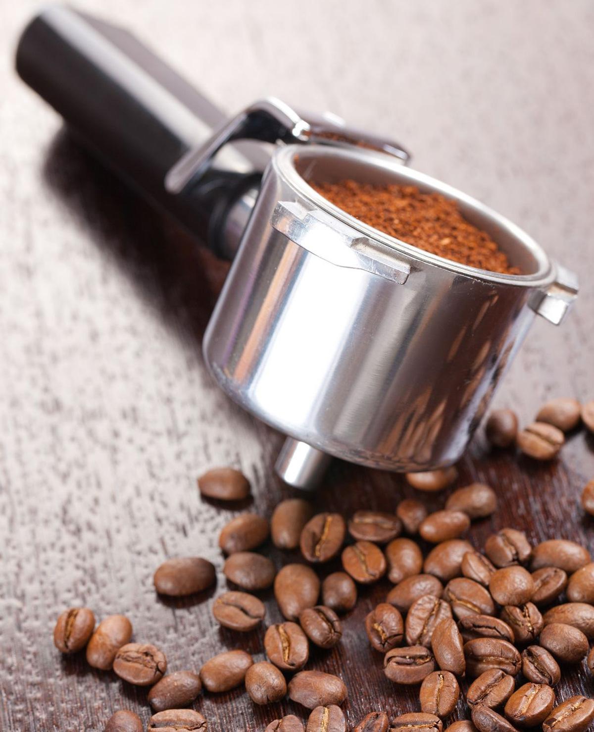 Schoonmaken met koffieprut