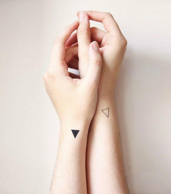 12 creatieve tatoeages om samen met je vriend te nemen