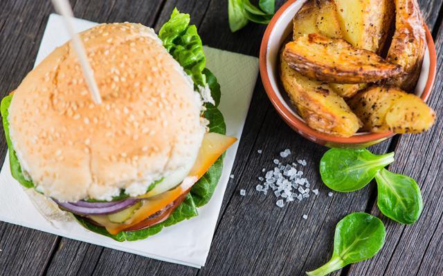 Recept: vegetarische champignonburger