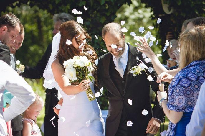 Trouwkiekjes: een kijkje in de bruiloft van Robine en Patrick