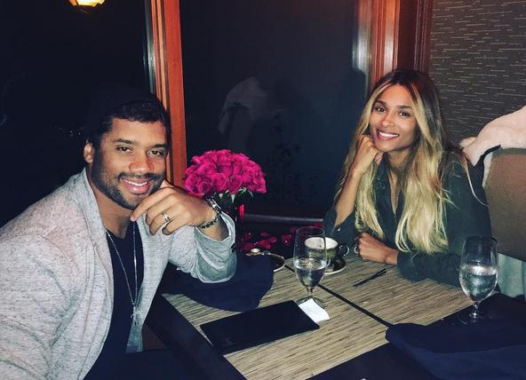 Ciara en Russel verwachten kindje!