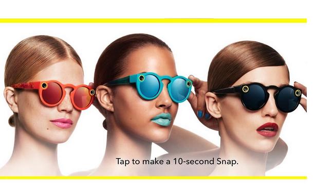 Wow: Snapchat komt met een high tech zonnebril!
