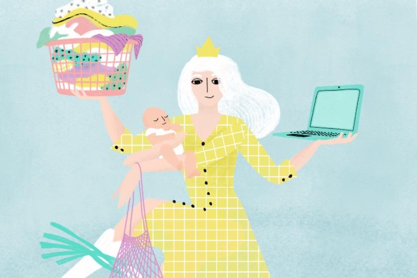 Balanstrutje, deeltijddiva: waarom is er zoveel kritiek op parttime werkende moeders?