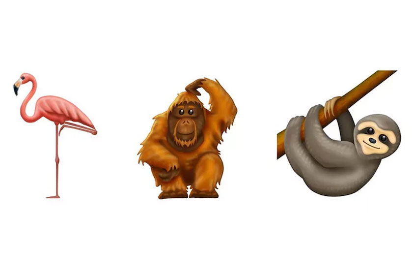 Woohoo, éindelijk een FLAMINGO! 230 nieuwe emoji's aangekondigd voor 2019