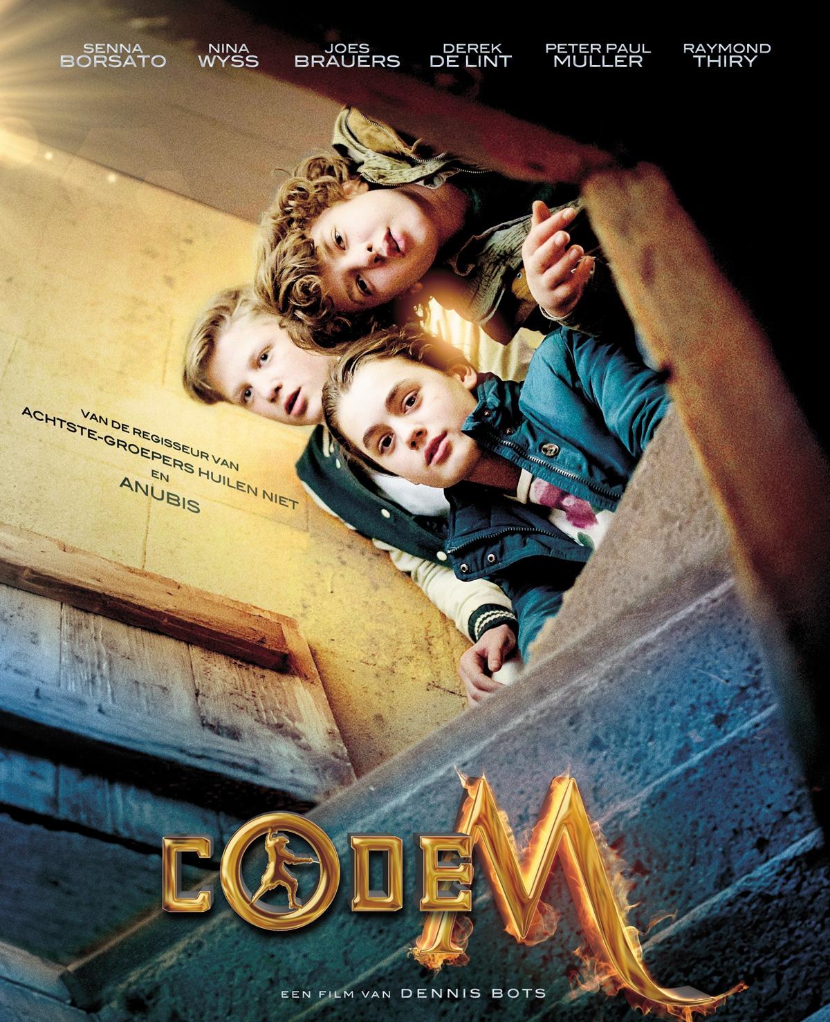 Win bioscoopkaarten voor Code M