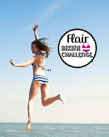 Doe je mee met de Flair Bikini Challenge?