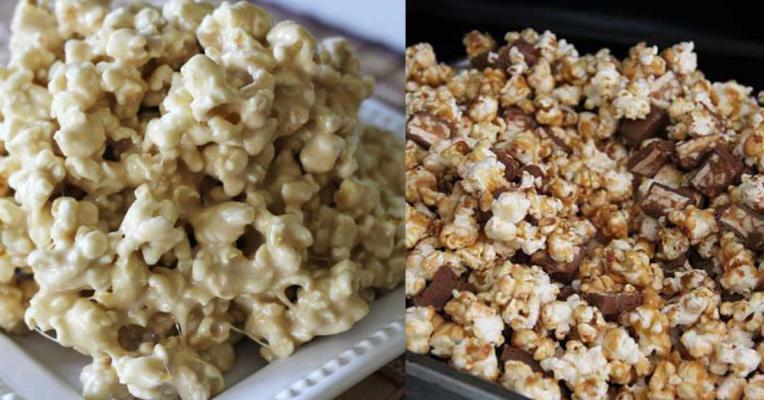 RECEPTEN: 8 x de perfecte homemade popcorn voor in je luie stoel